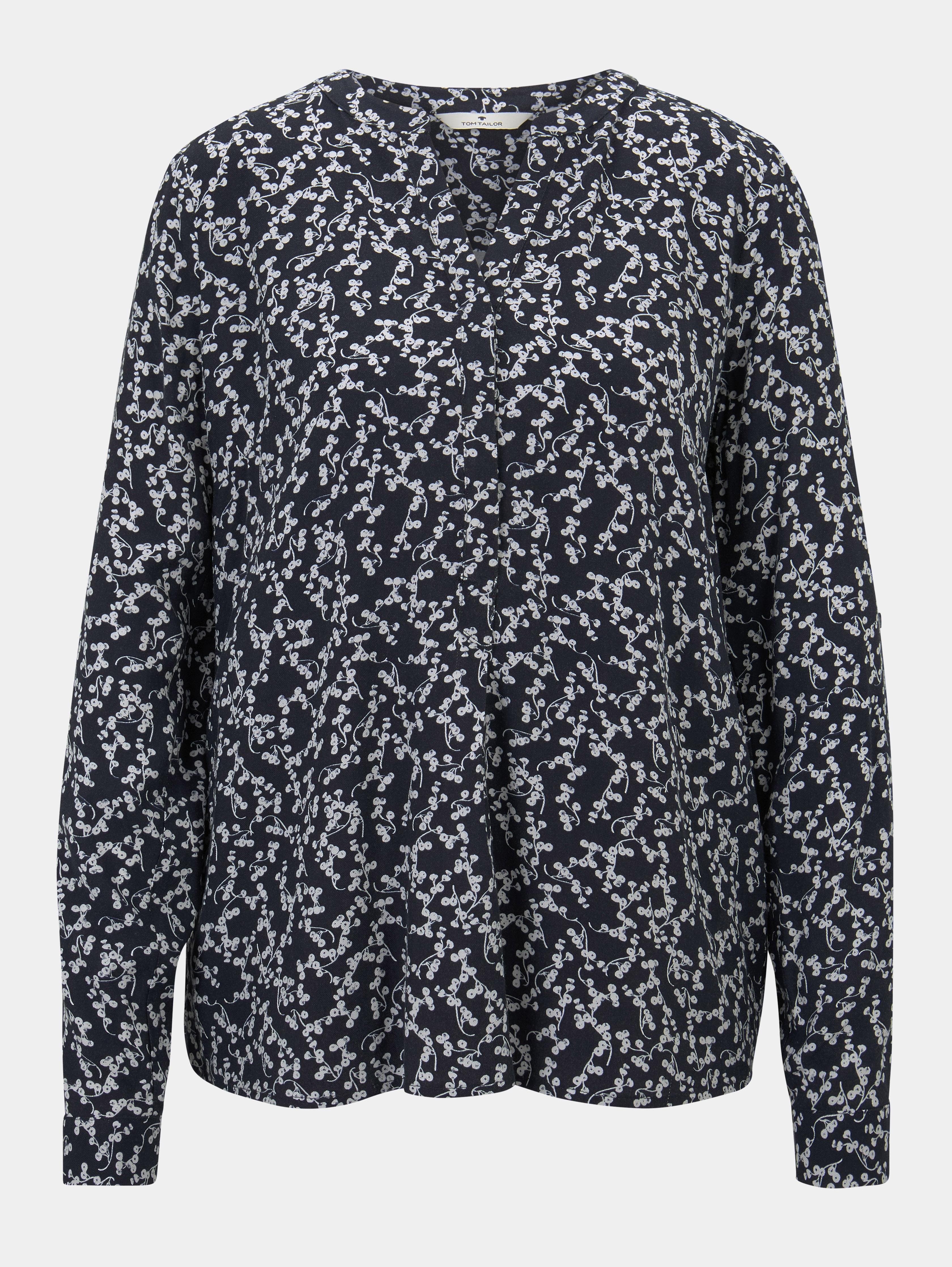 Bluse Longsleeve Flowery Tom Tailor