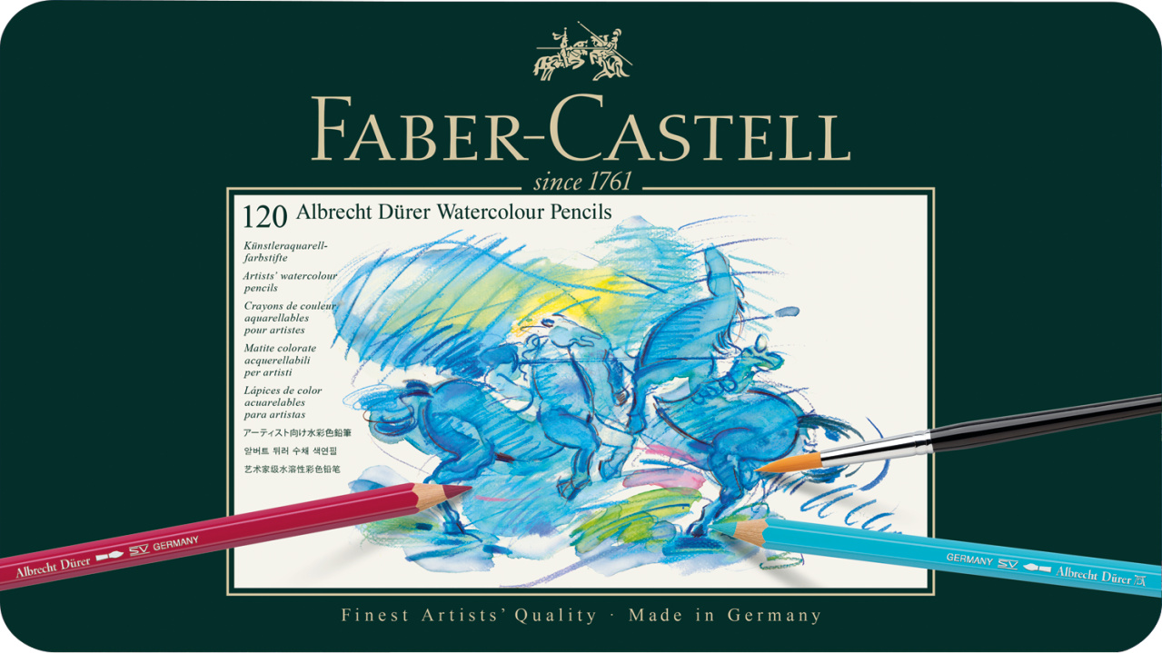 Faber Castell Watercolour Pencils 120er