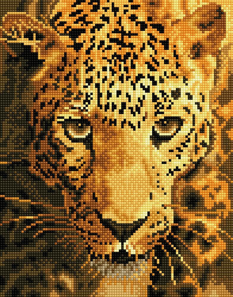 Diamond Dots Jaguar Prowl