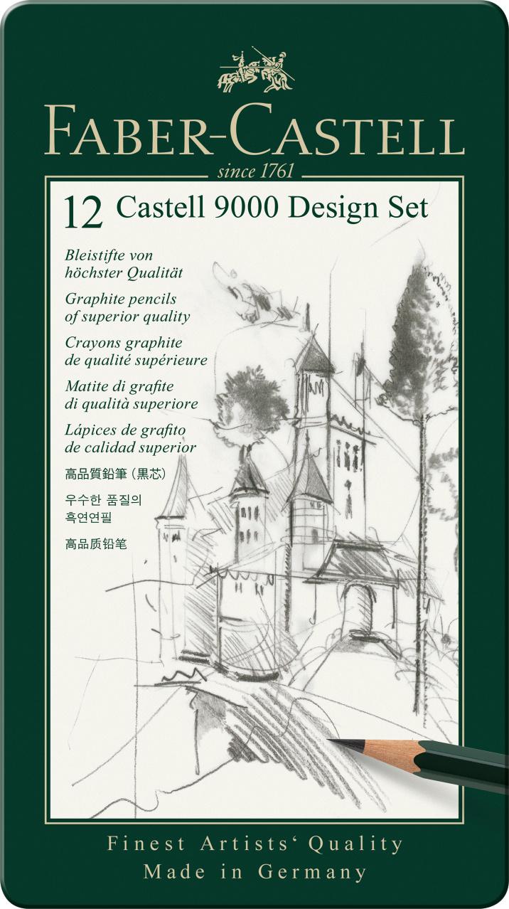 Faber Castell 9000 Design Set 12er