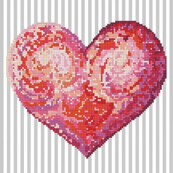Diamond Dots Heartfelt