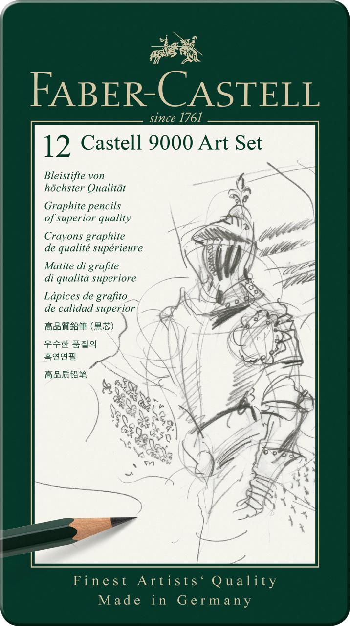 Faber Castell 9000  Art Set 12er