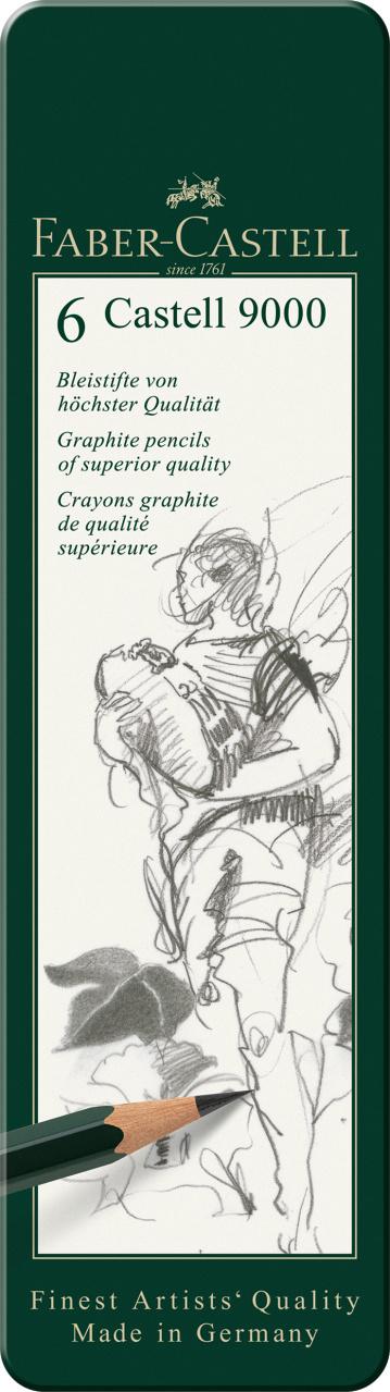 Faber Castell Castell 9000 6er