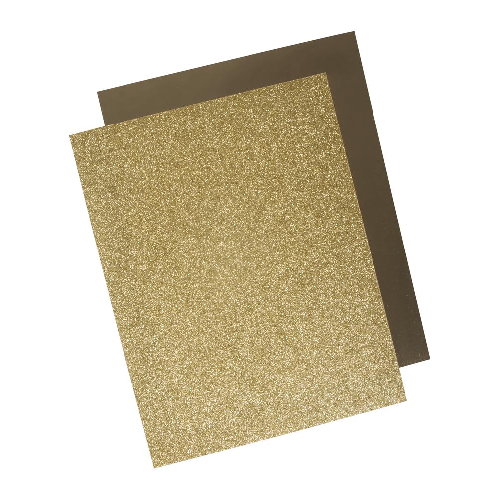 Rayher Metallic Bügel-Transferfolie gold
