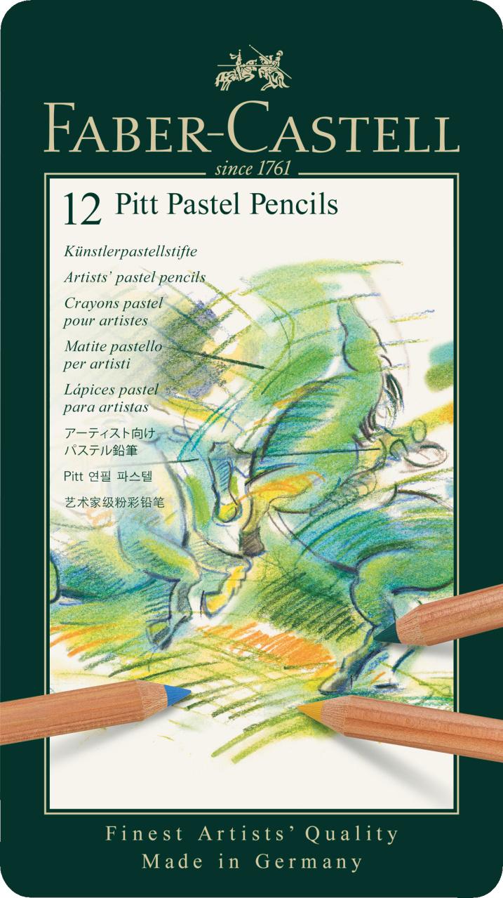 Faber Castell Pitt Pastel Pencil 12er