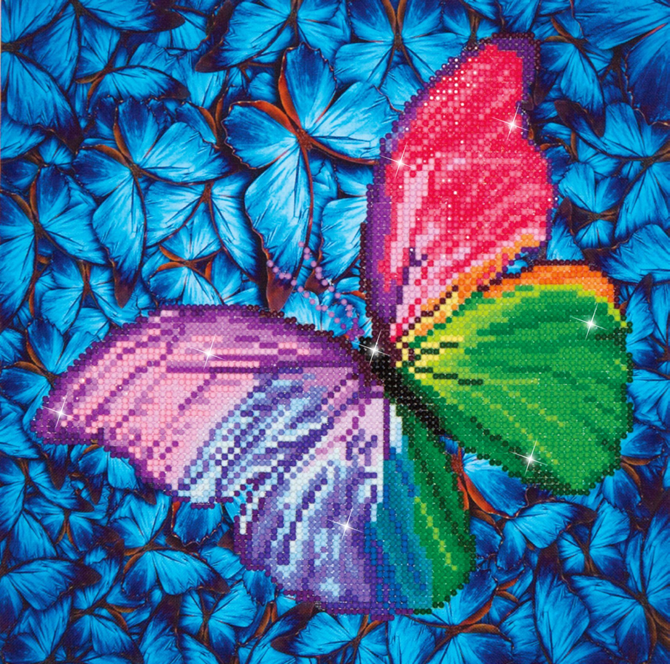 Diamond Dots Flutter by Pink