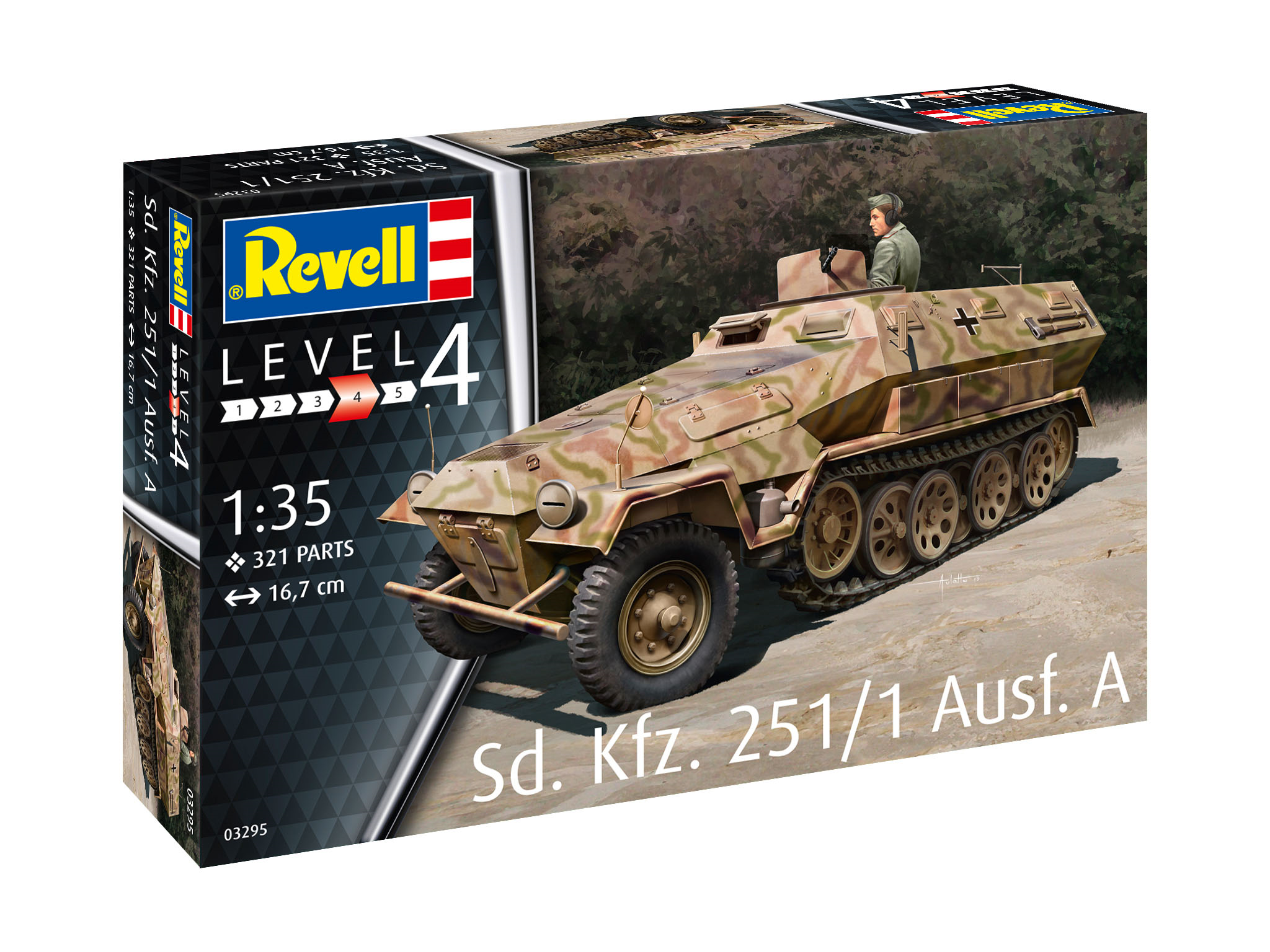 REVELL Sd. Kfz. 251/1 A