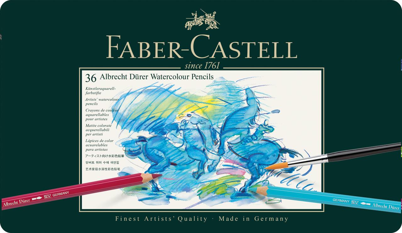 Faber Castell Watercolour Pencils 36er