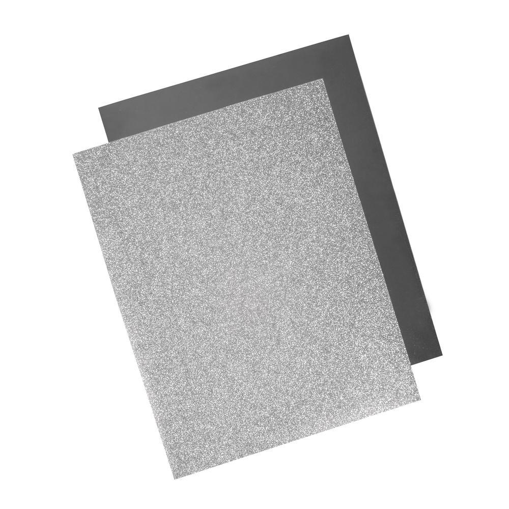 Rayher Metallic Bügel-Transferfolie silber
