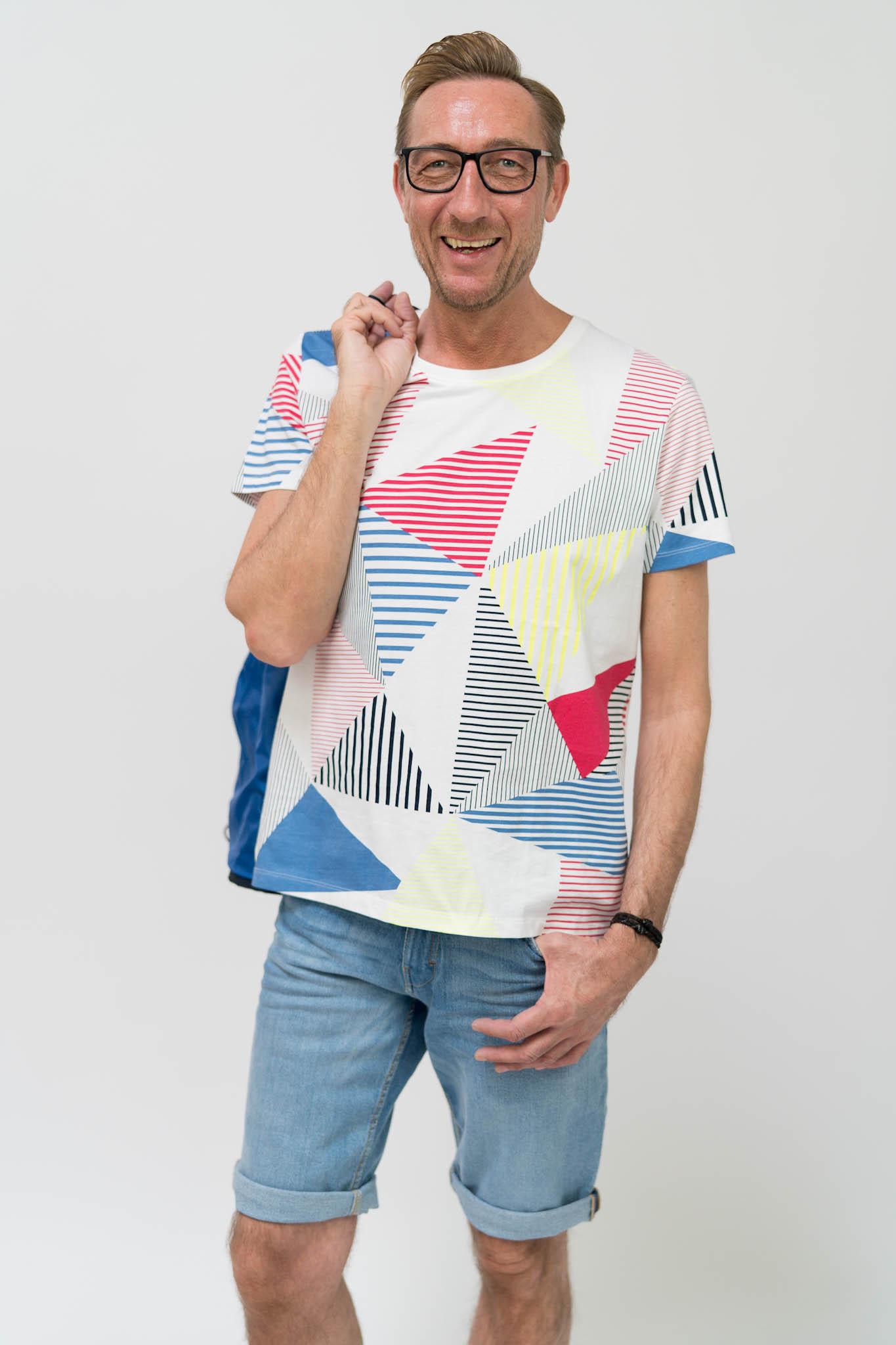 edc by ESPRIT Jersey-Shirt aus Baumwolle