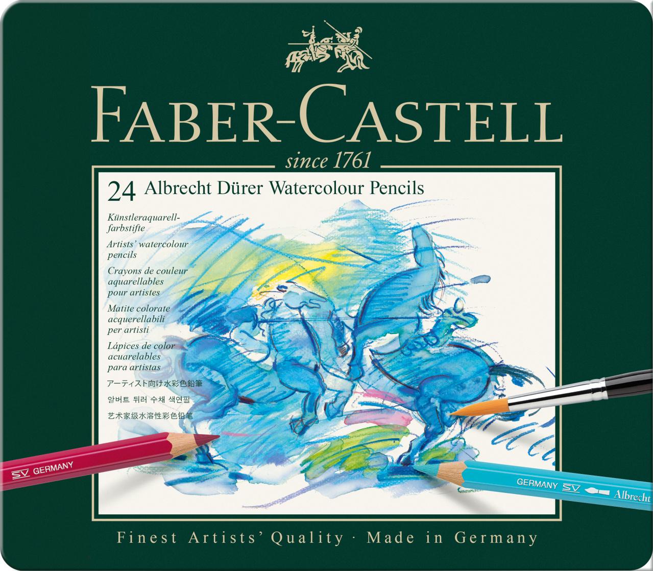 Faber Castell Watercolour Pencil 24er
