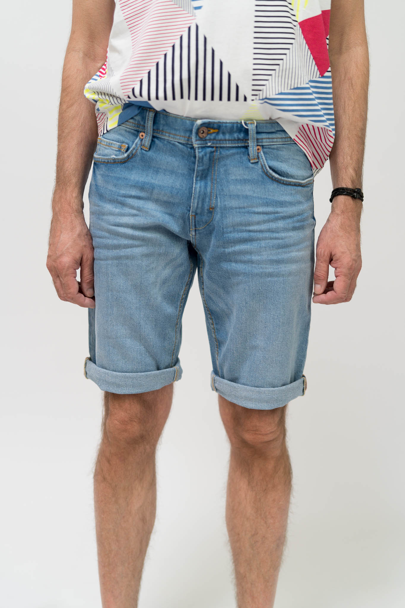 ESPRIT Denim-Shorts mit Organic Cotton