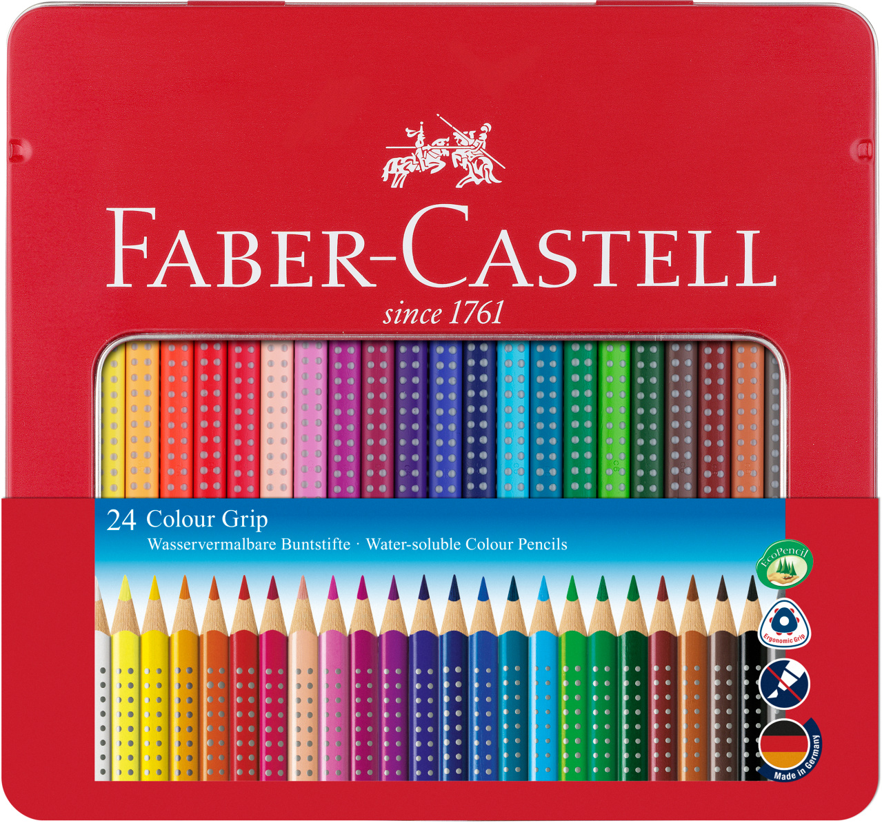 Faber Castell Colour GRIP 24er