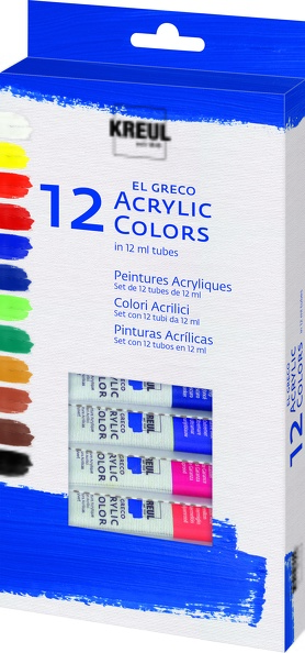 KREUL Acrylfarben 12er