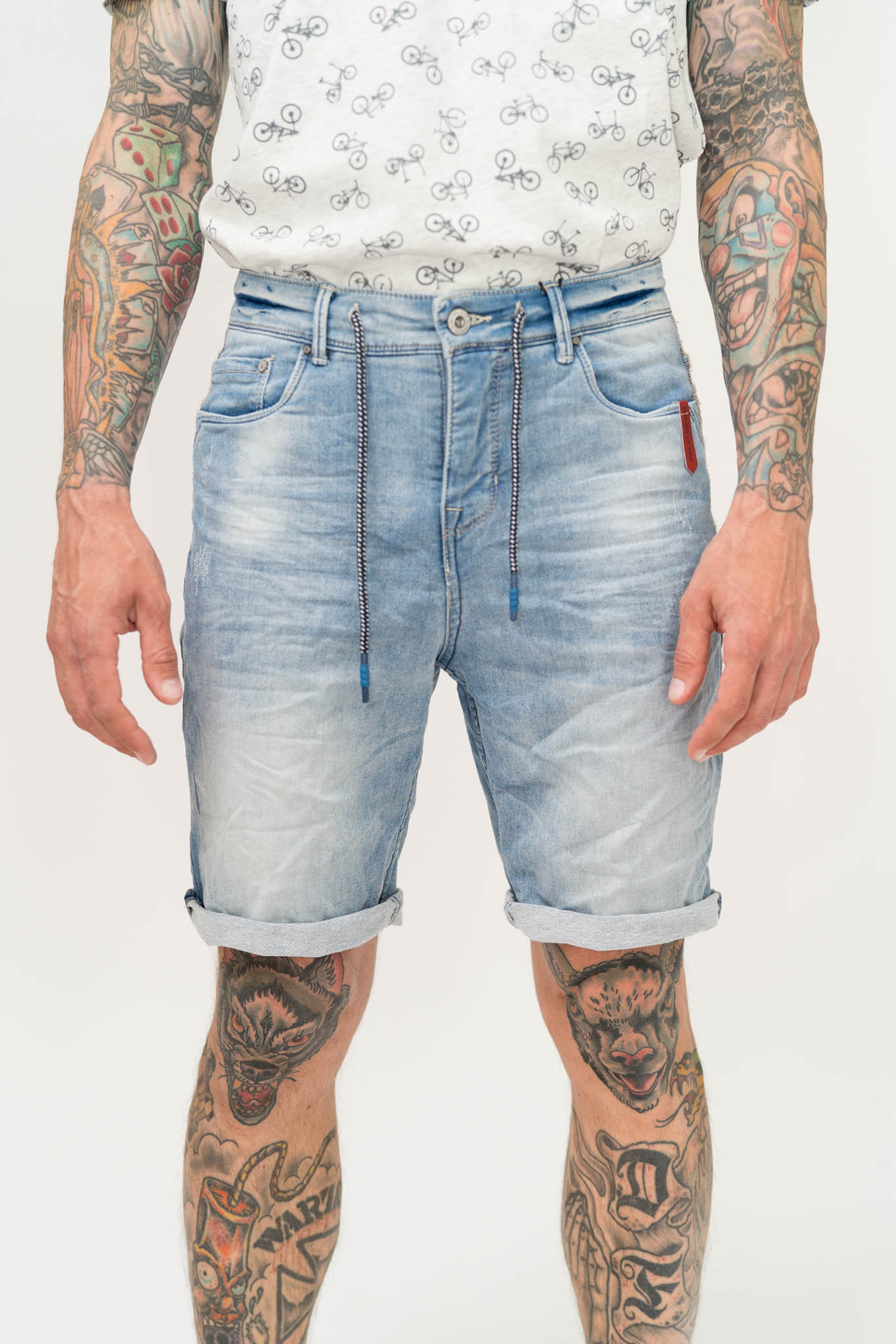 Shorts Sublevel Sweat Denim