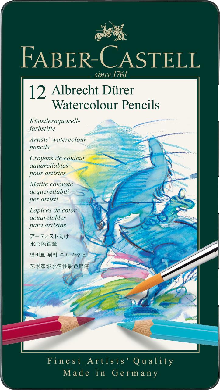 Faber Castell Watercolour Pencils 12er